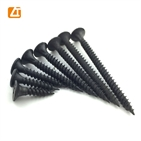 bugle head black phosphated fine thread coarse thread drywall screw