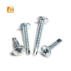 modified truss head wafer head self tapping/drilling screws